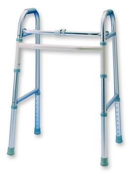Adult Single Button Folding Walker , Ea