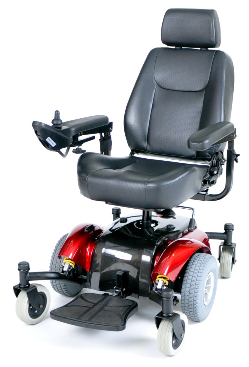 Intrepid Mid Wheel Drive Power Wheelchair
