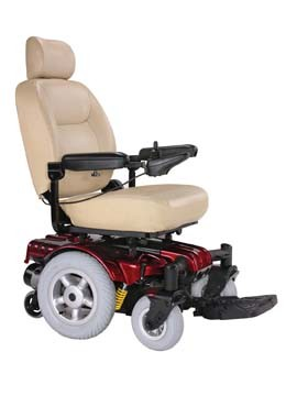 Home Power Mobility Bariatric SG-3CRD-853 Sunfire Gladiator Mid-Wheel Drive Very Heavy Duty