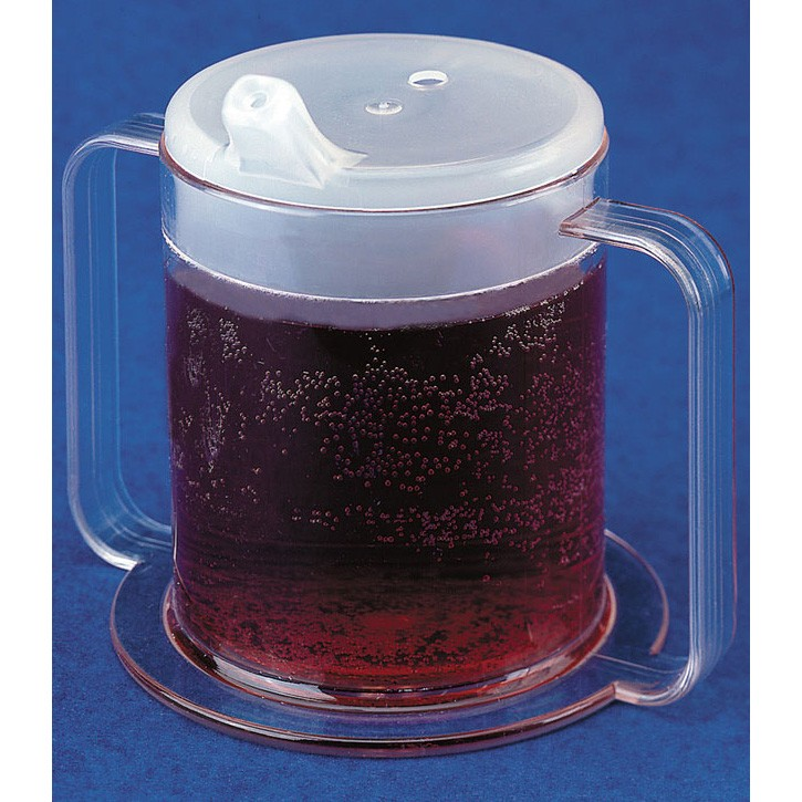 Clear 2 Handle Cup
