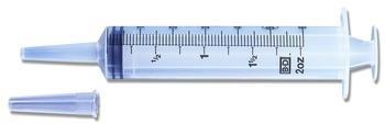 60cc Irrigation Syringe, Ea, LUER-LOK(R) Tip with Tip Shield, 60ml