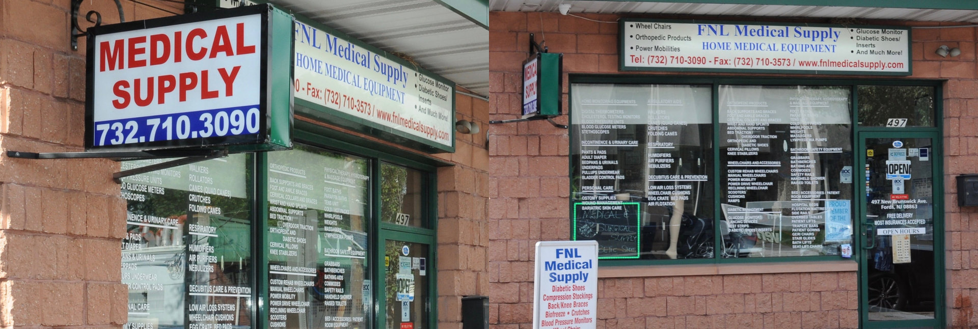 FNL Medical Supply store
